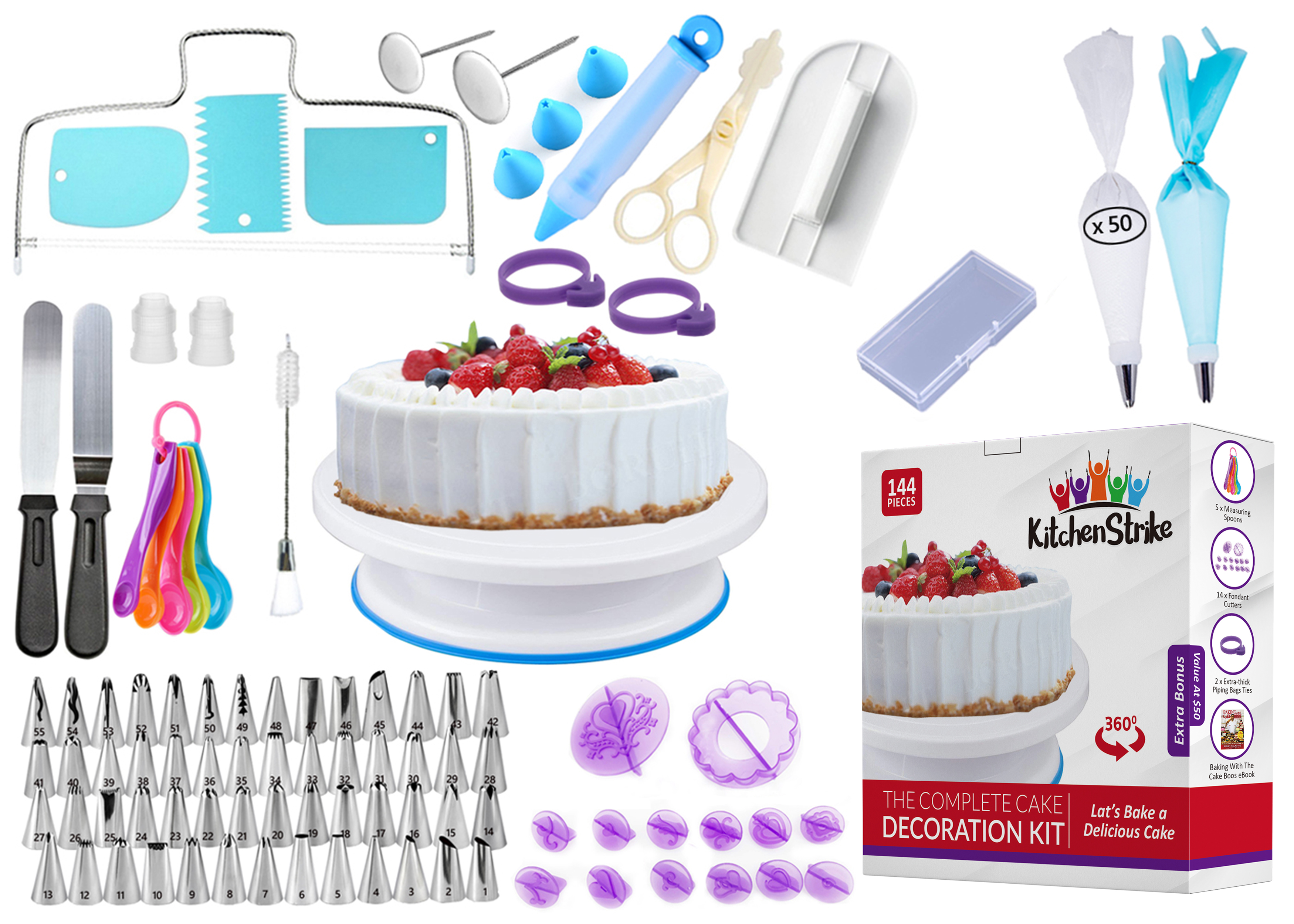 Cake Deco Giveaways