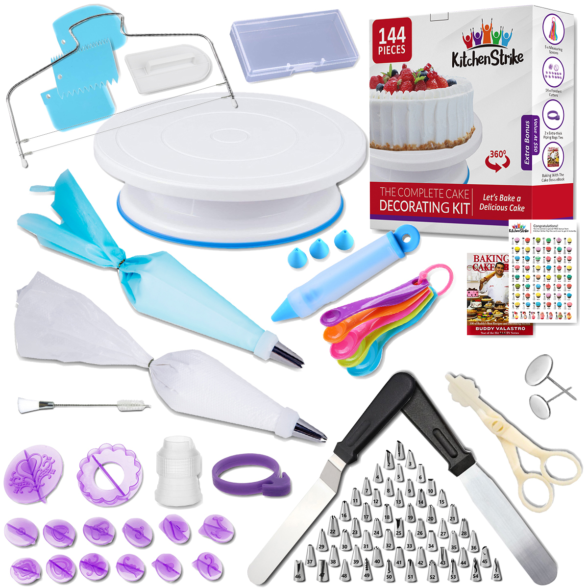 The Complete Cake Decorating Kit