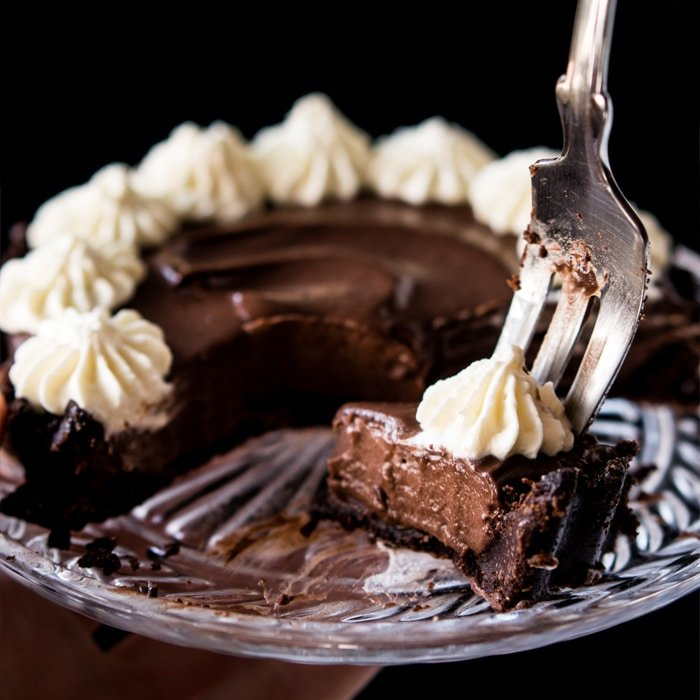 French Silk Pie Cake