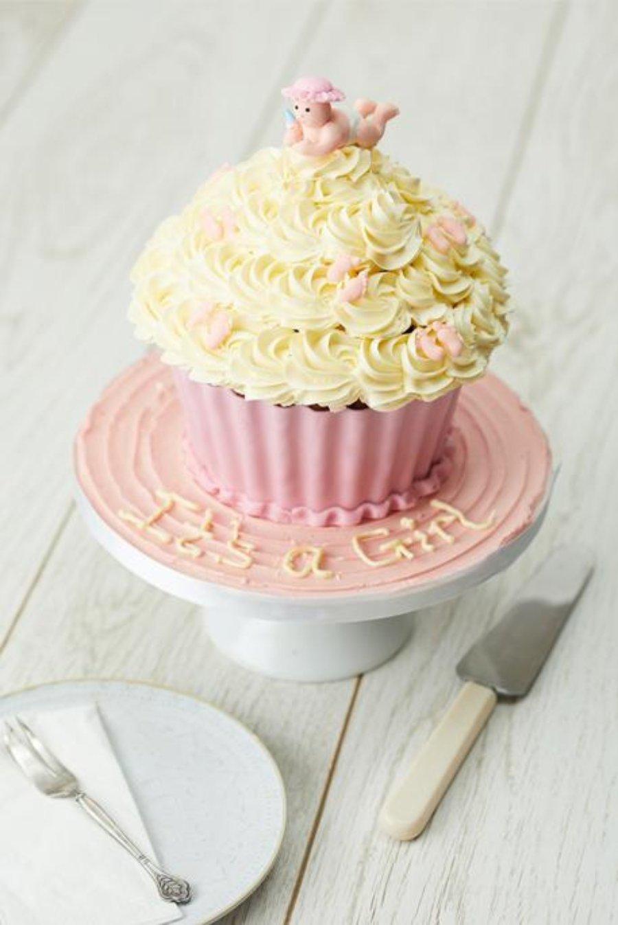 How To Make a Giant cupcake!