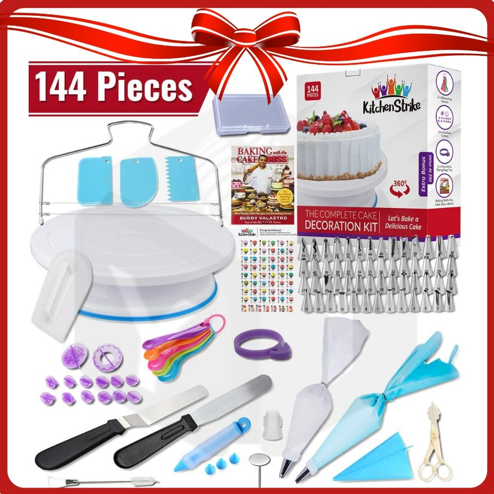 July Giveaways 5 Cake Decorating Kits