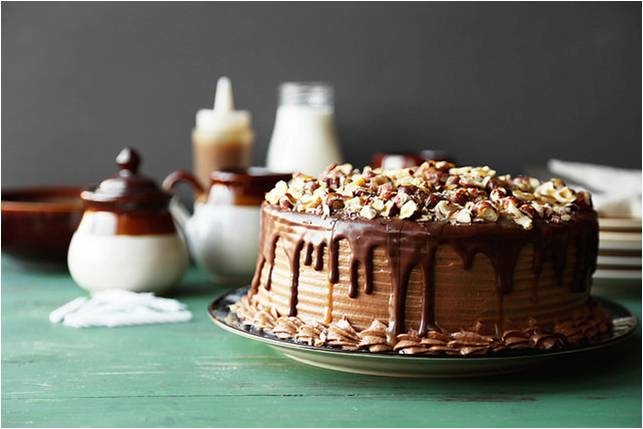 Chocolate Cake With Butterscotch