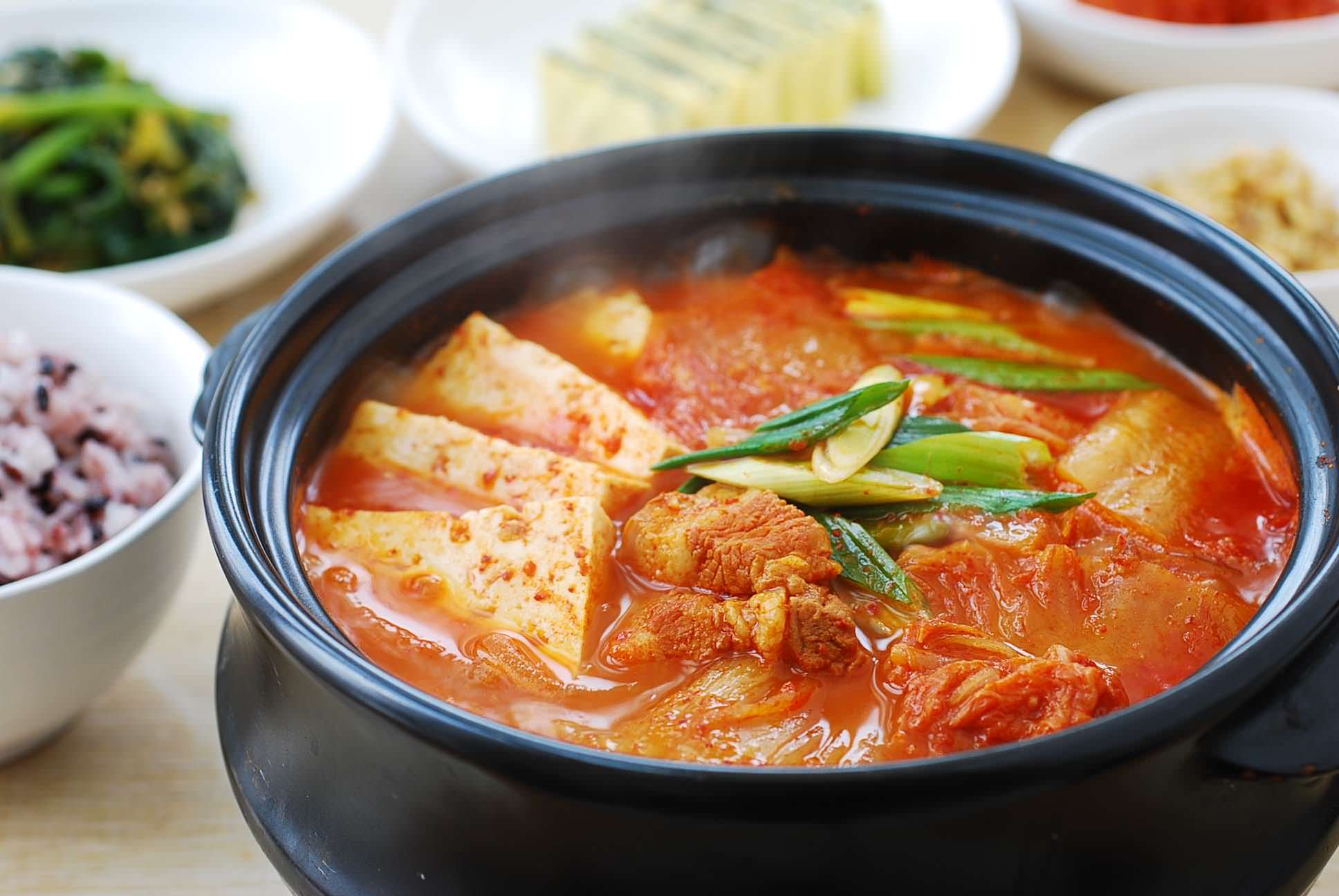 Tofu and Kimchi Stew Recipe