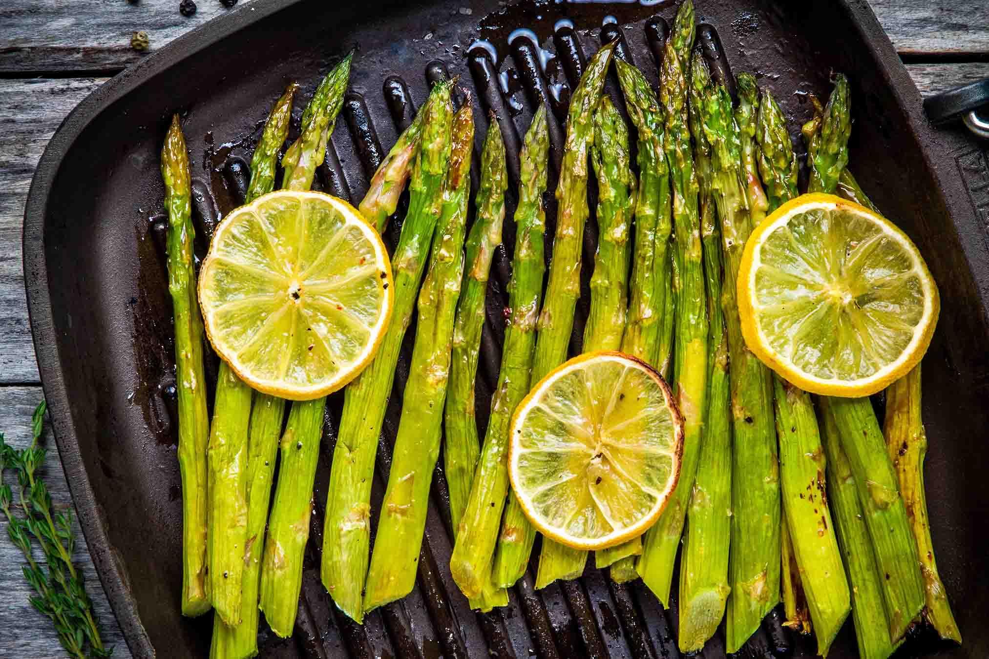 Asparagus With Lemon-Pepper