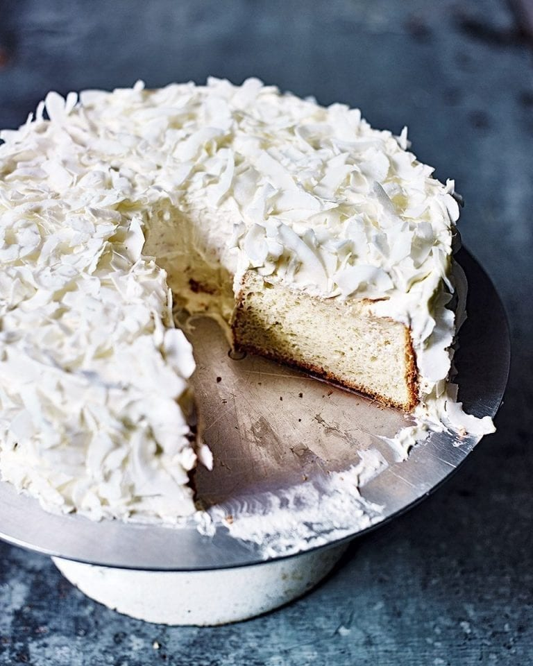 Coconut Angel Cake Recipe