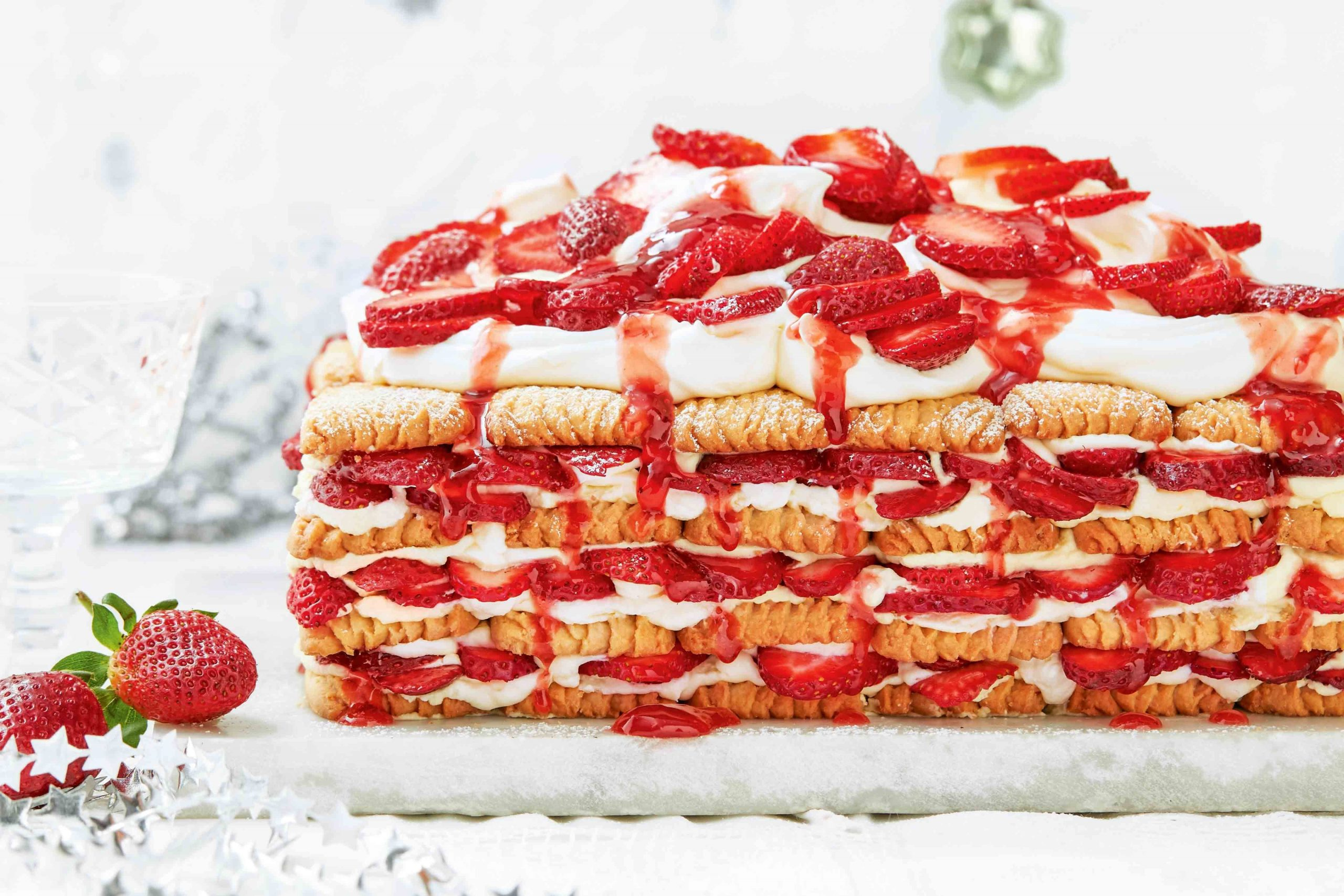 Strawberry Shortcake Slice Recipe