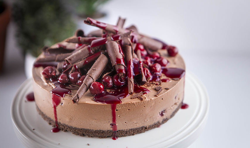 Choc-cherry Cheesecake Recipe