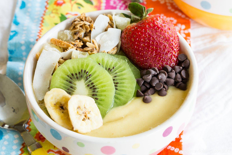 Tropical Smoothie Bowl Recipes